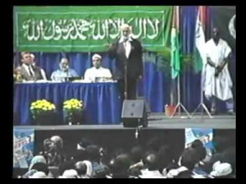 Ahmed Deedat Vs. Bishop General Wakefeild - Was Crist Crucified - English Full - Toronto, Canada video
