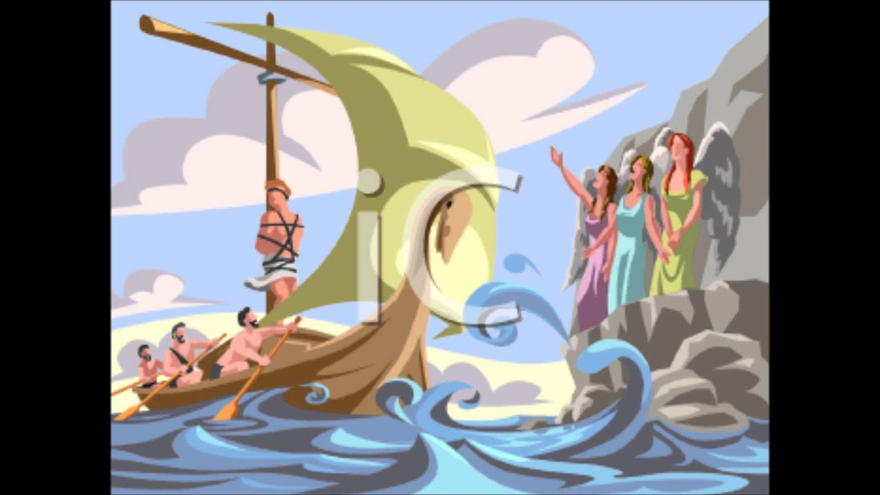 Sirens From The Odyssey Odysseus and the Sirens 1st