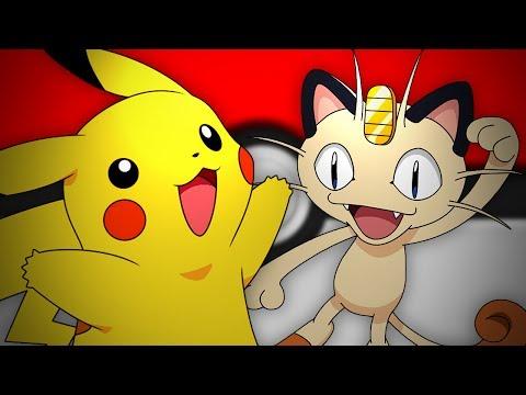 Pikachu vs Meowth. Epic Rap Battles of Pokemon #13.