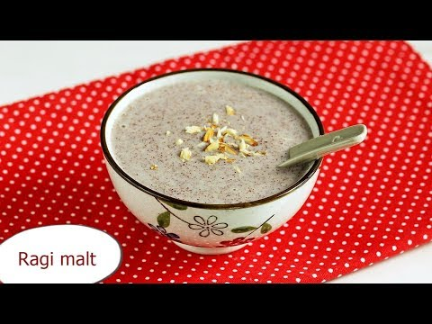 Ragi malt recipe | Ragi porridge | Ragi java recipe | Ragi recipes