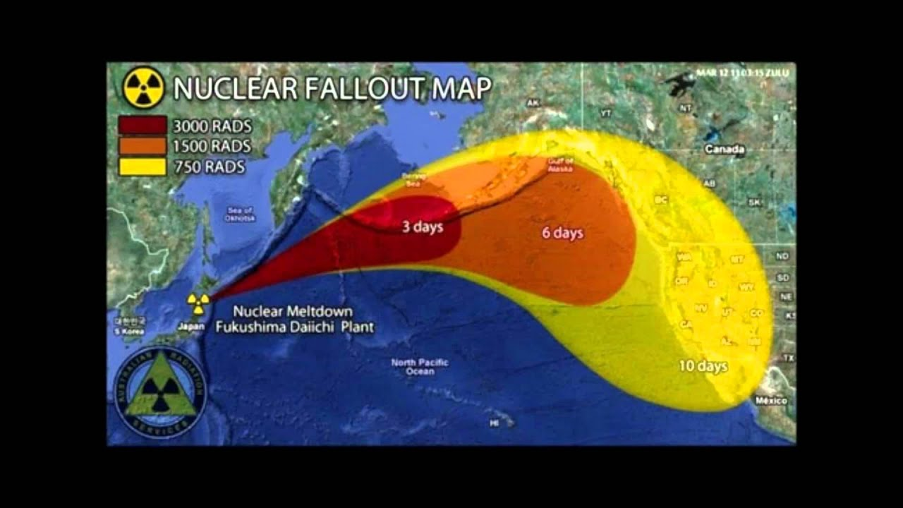 Radiation From Japan To Us Map Radiation Free Download Images Map Of Us Nuclear Fallout