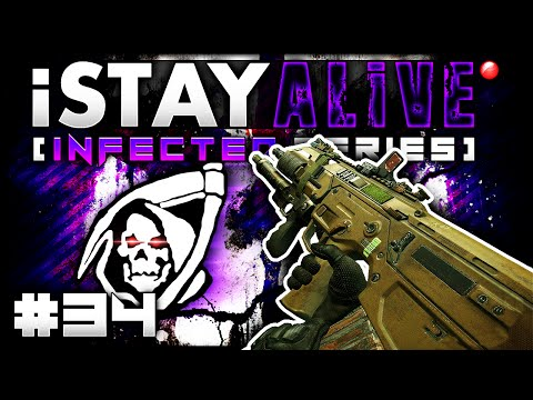 CoD Ghosts: 3 Intense Gameplays iSTAY ALiVE #34 Call of Duty Ghost Infected Gameplay