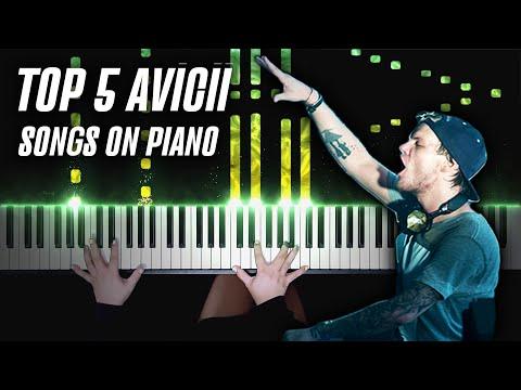 TOP 5 Avicii Songs on Piano | Avicii Piano Tribute