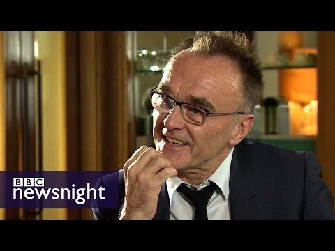 Danny Boyle on Steve Jobs, refugee crisis and Corbyn - Newsnight