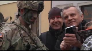 588th Welcome Ceremony in Boleslawiec