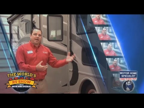World's RV Show Review of Thor ACE Motor Home at MHSRV.com
