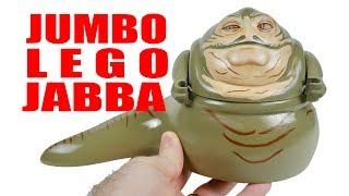 3D-Printed Jumbo LEGO Jabba the Hutt Minifigure
