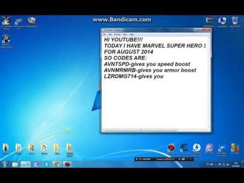 Marvel Super Hero Squad Online August 2014 Codes!