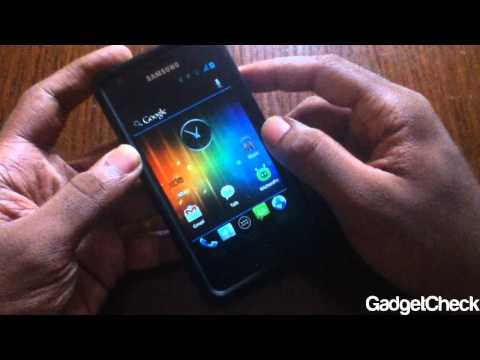 Android 4.0.1 Alpha 9 Samsung Galaxy S2 Full Review & First Ice Cream
