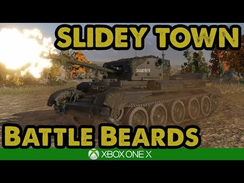 WoT / SLIDEY TOWN - Battle Beards  / Xbox One X