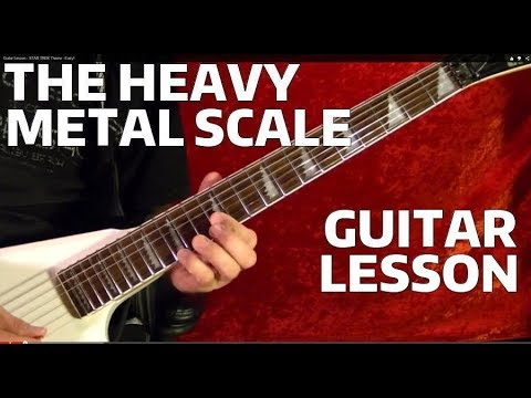 Lessons - Metal - Heavy Metal Riffs 21