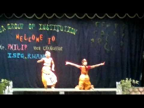 Classical Dance (gananayakaya) By Chinju Nair & Sreesha video