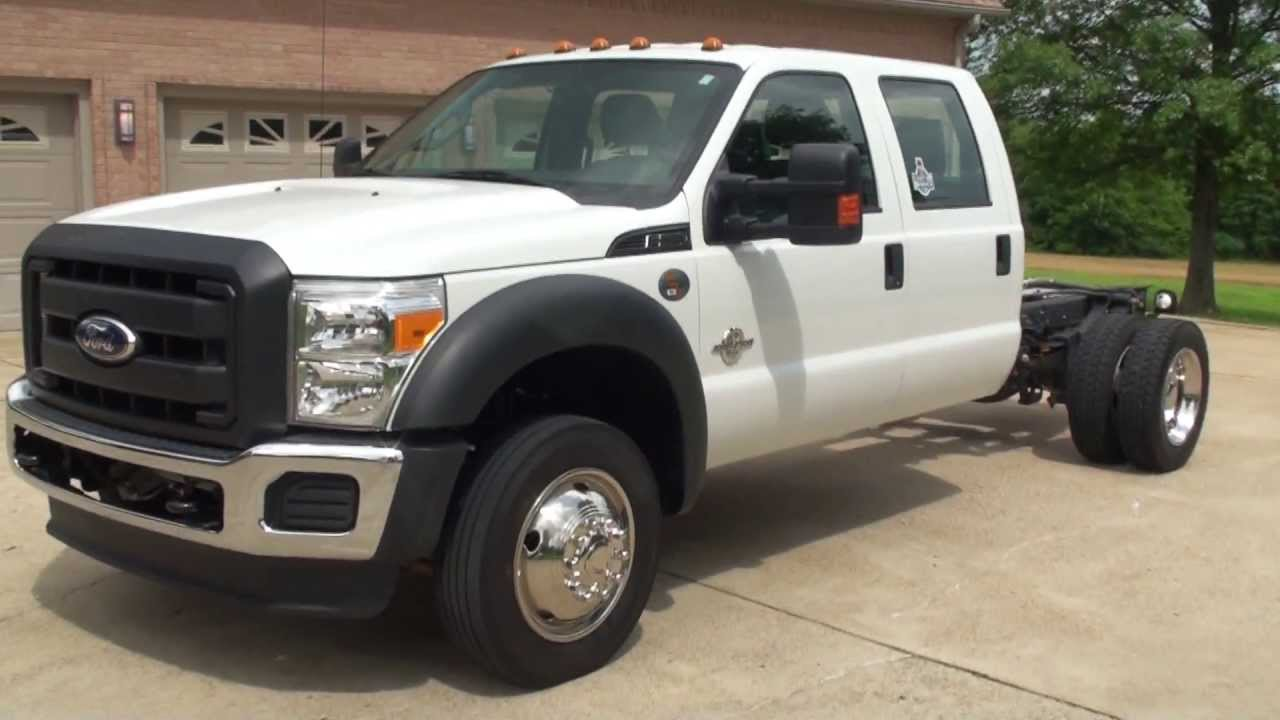 Trucks For Sale Working Trucks For Sale New And Used >> HD VIDEO 2011 FORD F550 CREW CAB 4X4 USED FOR SALE DIESEL ...
