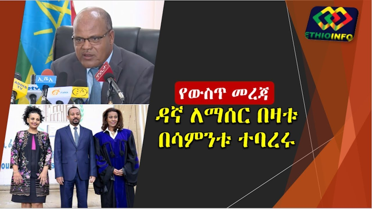 Update About Addis Ababa Police Commissioner Degefe Bedi