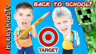 Back to School HAUL at Target with HobbyKids