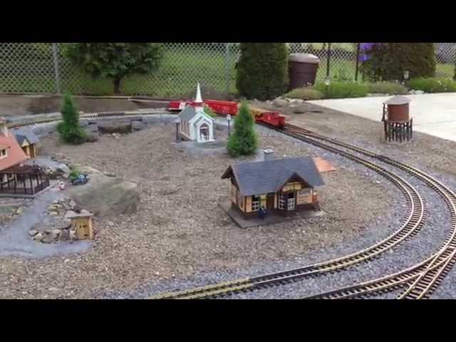 Young's Junction - G Scale Model Railroading