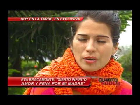CUARTO PODER - REPORTAJE A EVA BRACAMONTE FEFER 29/09/2013