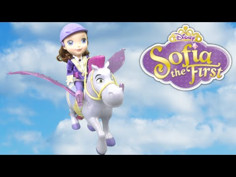 Sofia the First Flying Magic Princess Sofia and Minimus from Mattel