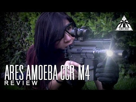 ARES Amoeba CCR Pistol M4 S-Class Airsoft Gun Review by Slender Airsoft