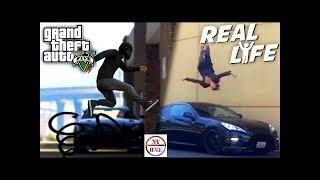 GTA 5 VS REAL LIFE #18