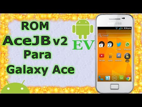 Rom AceJB v2 para Galaxy Ace s5830m/i/c/t/39i | Android Evolution