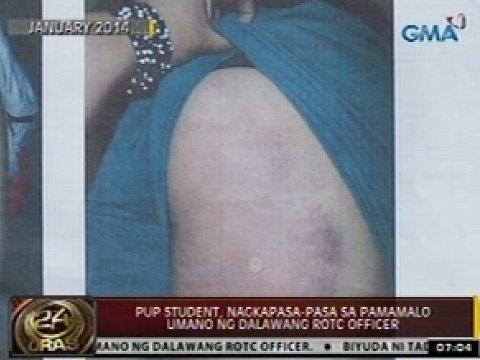 24oras: Pup Student, Nagkapasa-pasa Sa Pamamalo Umano Ng Dalawang Rotc Officer video