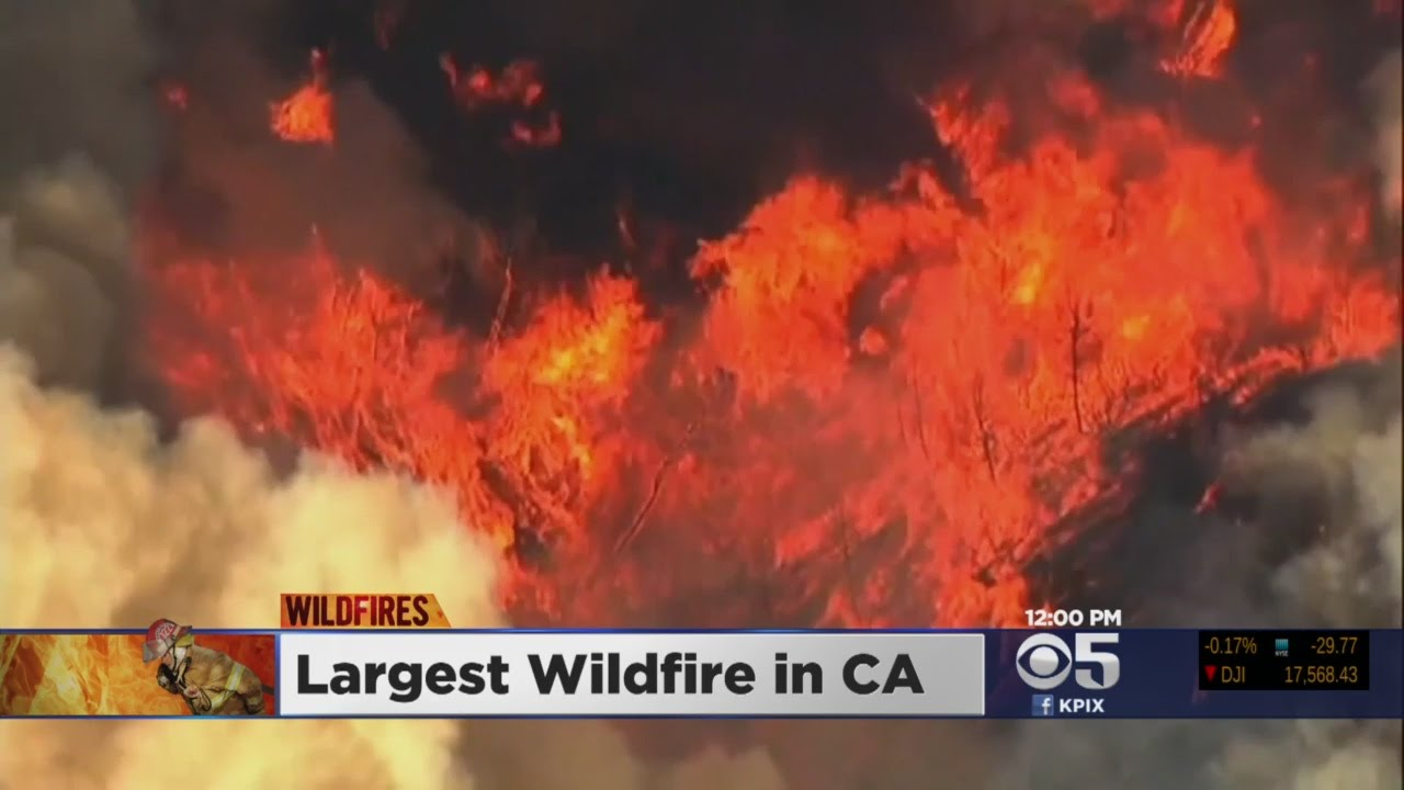 White House Keeping Close Eye On Lower Lake As Rocky Fire Chews Through 65,000 Acres