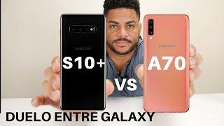 Samsung Galaxy A70 VS Samsung Galaxy S10+ No Creerás Lo Resultados