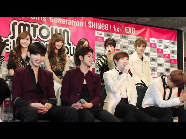 SMTOWN World Tour - Super Junior Interview P.1