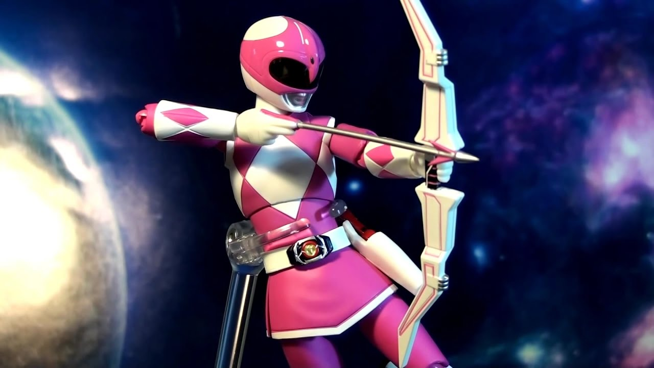 R302 bandai s h figuarts mighty morphin power rangers pink ranger