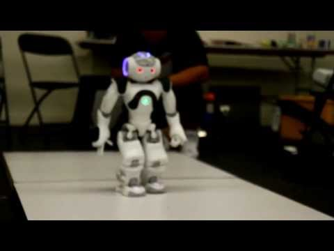 Nao Robot j2's 2nd try at doing the Autonomous Humanoid Dash Challenge at the 2012 Robogames