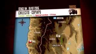 IVECO NEVER GIVES UP - Stage 4 Dakar 2015