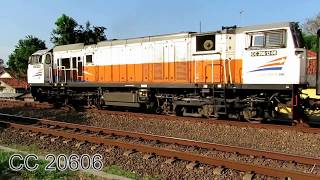Kompilasi KA : CC 206 Batch 2013 - Aksi 100 Lokomotif Puongs