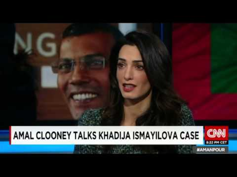 Amal Clooney Talks Khadija Ismayilova Case