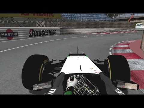 F1 2014 Monaco Grand Prix - Perez Onboard (rFactor)