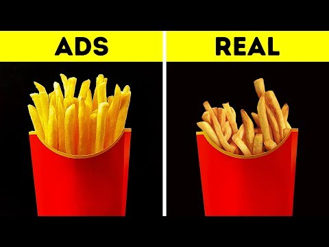 Download FOOD IN COMMERCIALS VS. IN REAL LIFE Mp4 baru