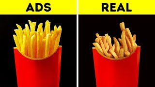 Download Song FOOD IN COMMERCIALS VS. IN REAL LIFE Free StafaMp3