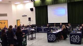 November 7, 2017 Regular Meeting of the Halton Catholic District School Board