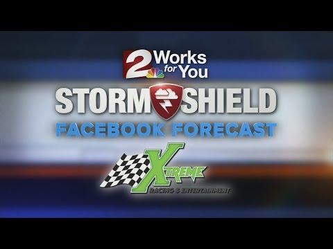 Saturday Evening Facebook Forecast