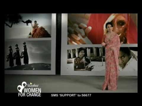 Stayfree Tv Advertisement ft. Sakshi Tanwar &...
