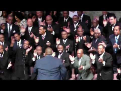 Oakcliff Bible Fellowship Men's Choir Bringing back the good ole days!