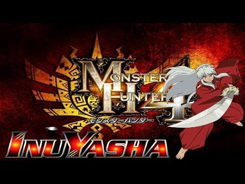MH4 EVENT Garara Ajara Reward: TESSAIGA COLMILLO DE ACERO de INUYASHA Monster hunter 4