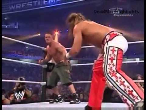 Shawn Michaels Vs John Cena - Highlights Wrestlemania 23 - video