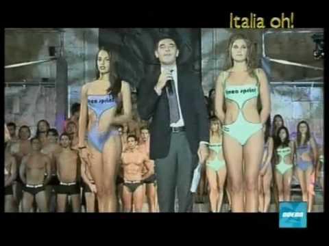 Raffaella Fico nella finale Miss Grand Prix e Più Bello d'Italia 2009 a Teramo