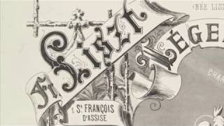 Franz Liszt–Legend No. 1  St. Francis of Assisi–Preaching to the Birds
