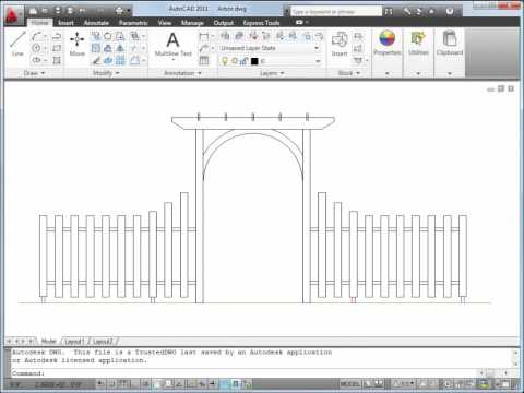 Create and Edit 2D Objects — AutoCAD 2011