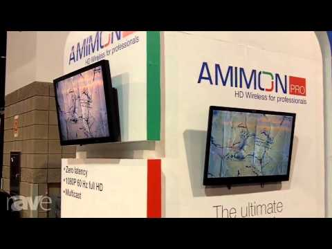 CEDIA 2013: Amimon's Pro HD Wireless Video Transmission Almost has Zero Latency