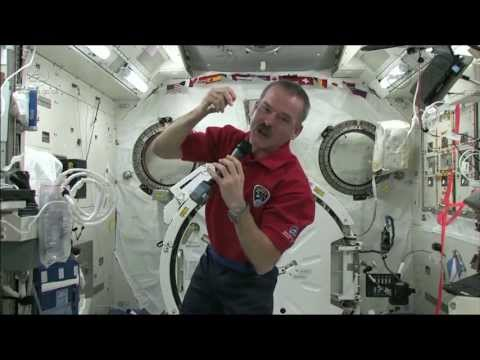Chris Hadfield on how eyesight is affected in space