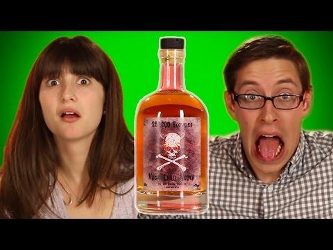 Weird International Liquor Taste Test