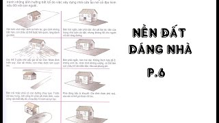 XEM PHONG THỦY ĐẤT, NỀN ĐẤT, DÁNG NHÀ BIẾT CÁT HUNG P.6